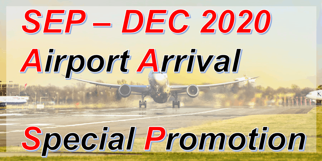 Special 10% Promotion on Pickup at Kansai Airport Shop